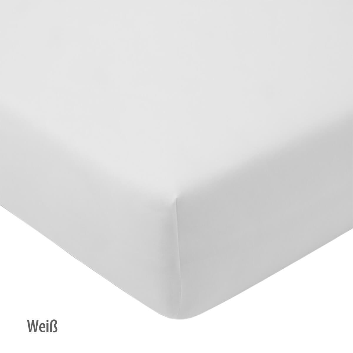 Estella Spannbetttuch 6500 Feinjersey - Weiß