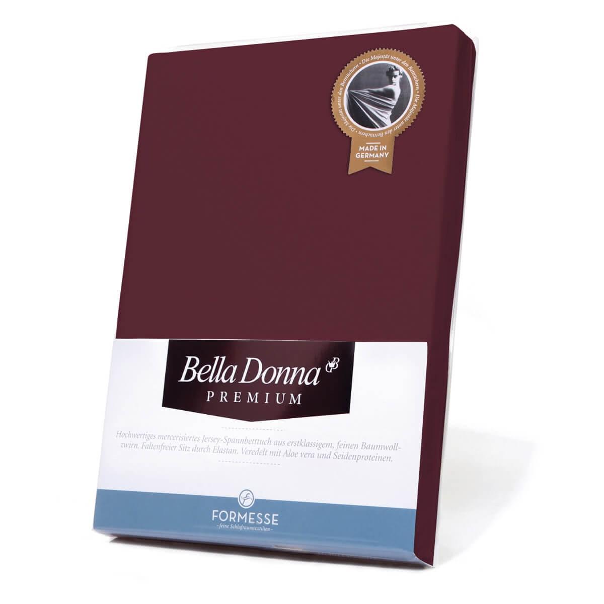 Formesse Bella Donna Premium Spannbetttuch Carbernet