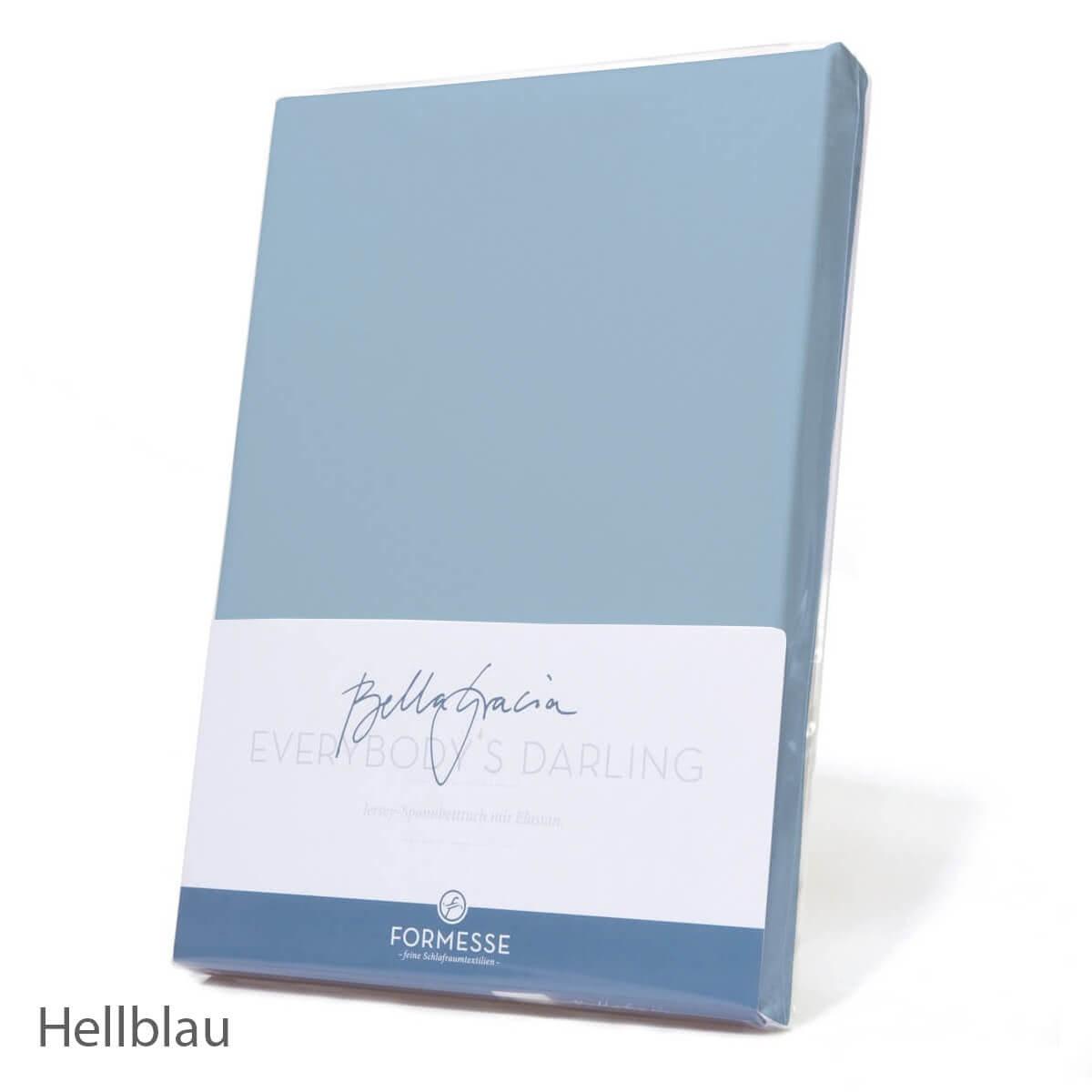 Formesse Bella Gracia Spannbetttuch - Hellblau