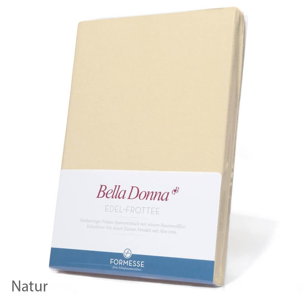 Formesse Bella Donna Edel Spannbetttuch Ansicht - Natur