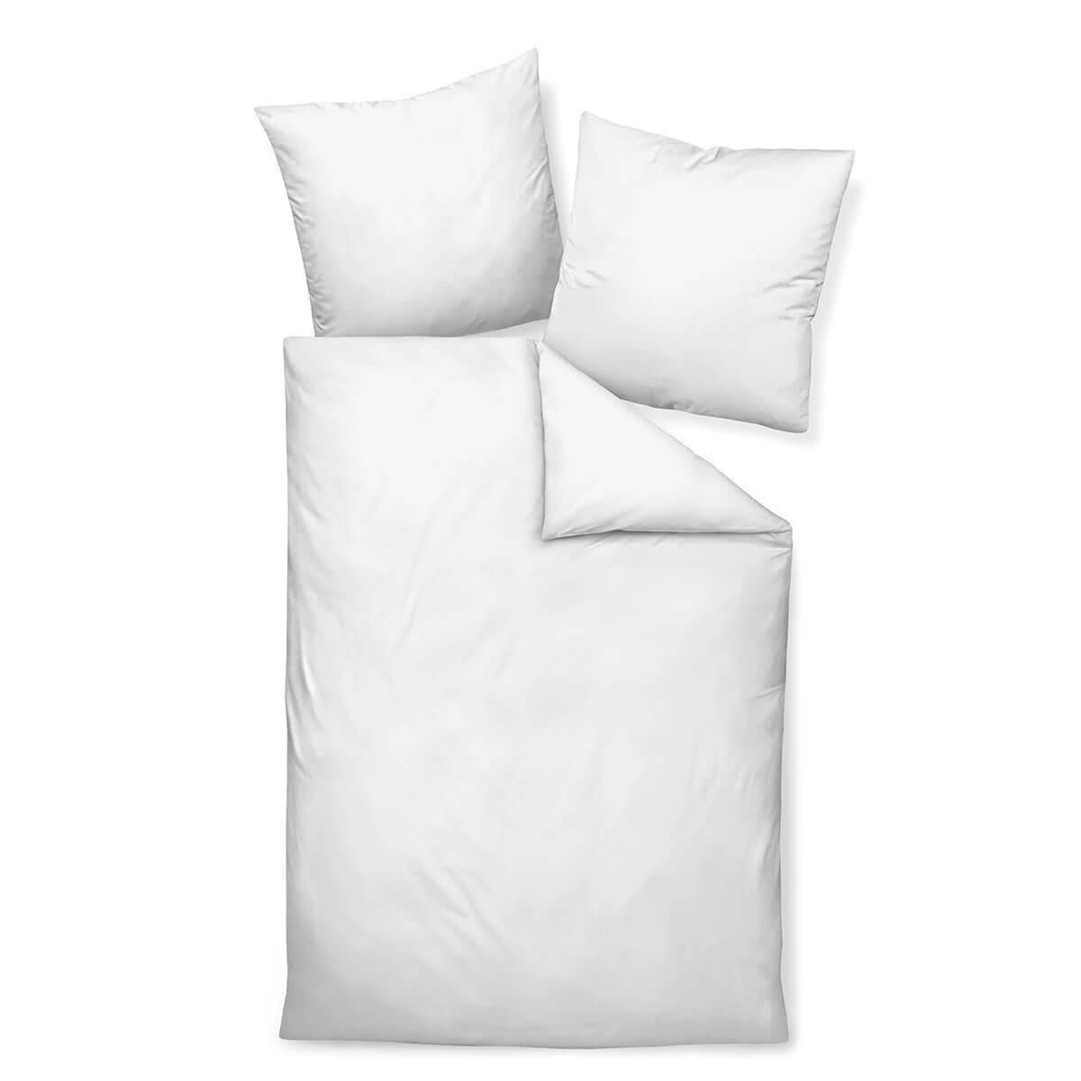 Janine Colors 31001 Bettwäsche Weiß