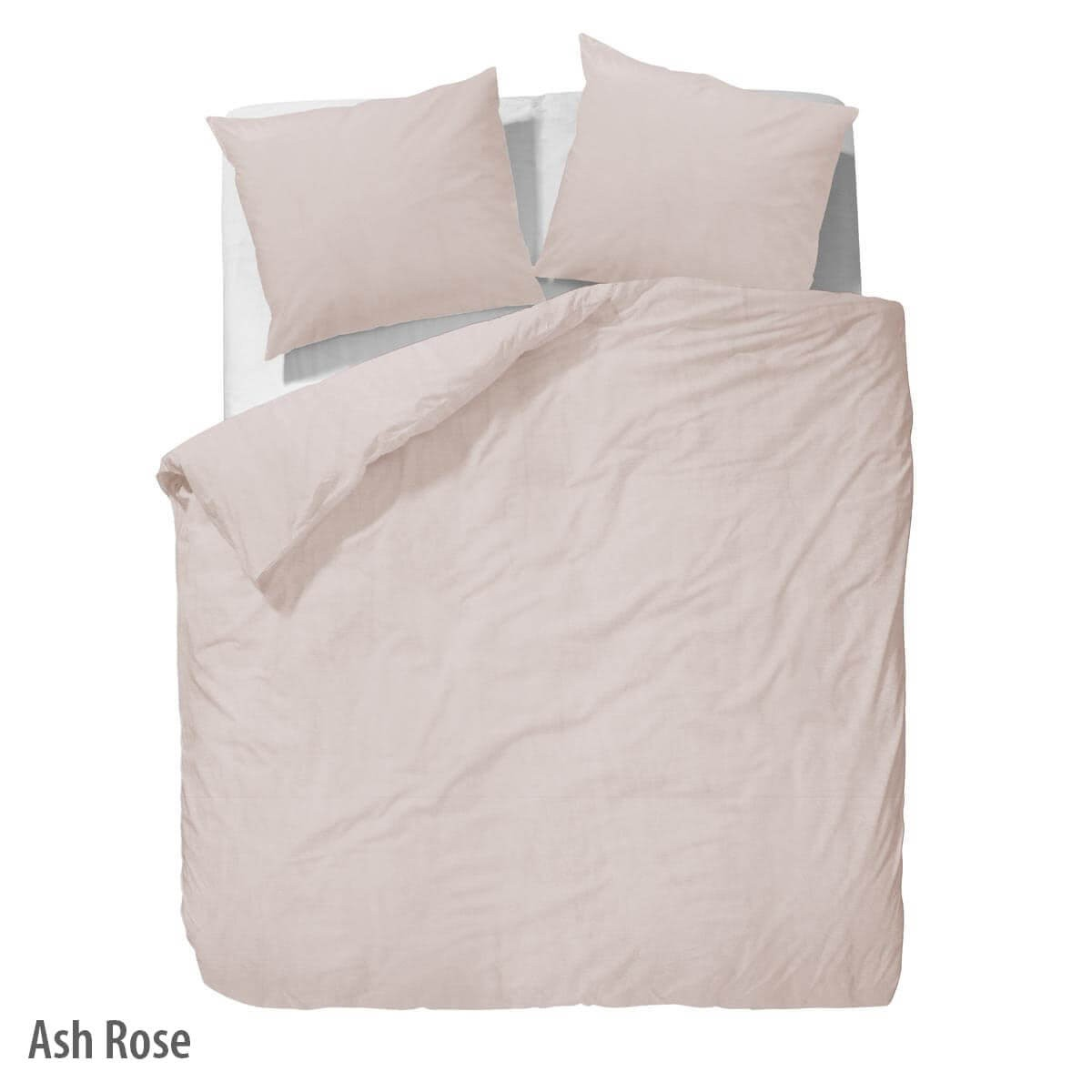 Bettwäsche Washed Linen - Ash Rose