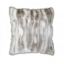 Eskimo Kissen Snowfox Silber Ansicht neu